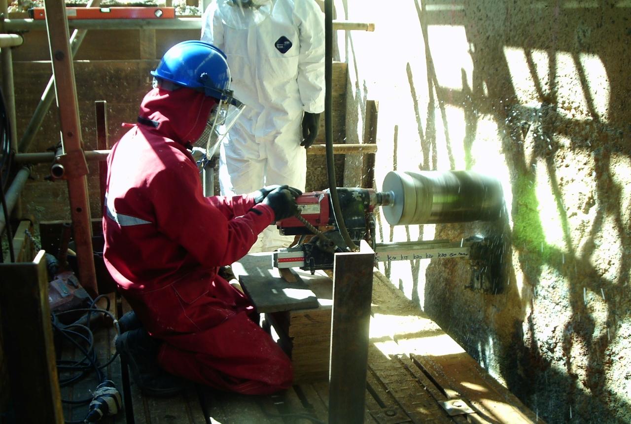 SX Weir Wall Reinstatement Repairs-A01